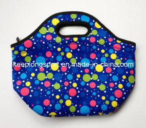 Full Color Printing Custom Neoprene Lunch Bag, Cooler Bag