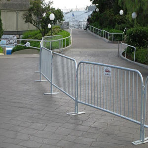 Galvanized Crowd Control Barrier for Seperation pictures & photos
