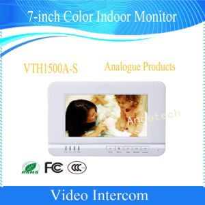 Dahua 7-Inch Video Intercom Doorphone Color Indoor Monitor (VTH1500A-S) pictures & photos