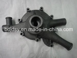 Sand Casting with CNC Machining Water Pump Cover pictures & photos