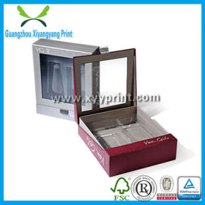 Custom Paper Plastic Leather Wooden Wine Perfume Cosmetic Packing Box Packaging pictures & photos