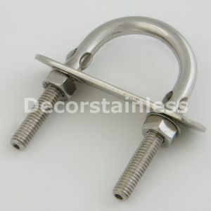 Stainless Steel M6 U Bolts with Washers and Wing Nuts pictures & photos