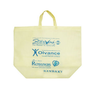 with Printed and Handled Non-Woven Tote Bag pictures & photos