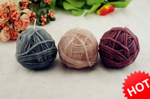 Yarn Ball Sphere Candle (RC-508)