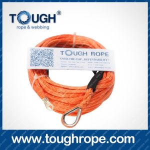 Tr-02 Hand Winch Dyneema Synthetic 4X4 Winch Rope with Hook Thimble Sleeve Packed as Full Set pictures & photos