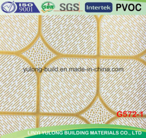 PVC Laminated Gypsum Ceiling Board 2014 New Design for Ceiling pictures & photos