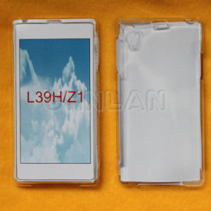 2014 Best Selling Clear Transparent Mobile Phone Case for Sony Ericsson L39h Xperia Z1