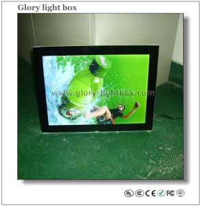 Indoor Magnetic Advertising LED Crystal Lighting Box (SJ026) pictures & photos