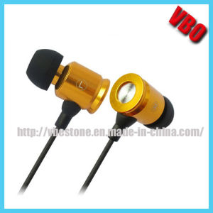 High Quality Metal Stereo Earphone Earbuds pictures & photos