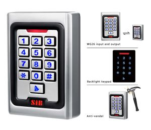 Sib K5em Two Way Standalone Keypad RFID Building Access Controller