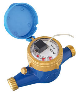 Dn 15-50mm Pulse Output Multi Jet Water Meter, ISO4064