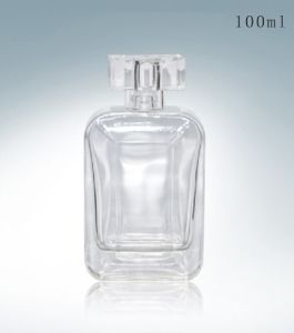 High Quality 50ml Clear Glass Perfume Bottle Kl-T832 pictures & photos