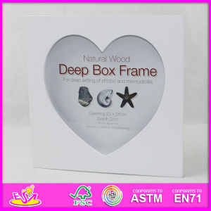 2014 Hot Sale New High Quality (W09A026) En71 Light Classic Fashion Picture Photo Frames, Photo Picture Art Frame, Wooden Gift Home Decortion Frame pictures & photos