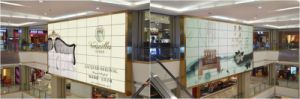 LCD Video Wall for Shopping Mall, Hotel Hall, Concerts, Mxn Full Screen Display