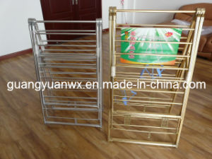Bending Anodized Aluminium Pipe for Clothes Rack 6061 T6 pictures & photos