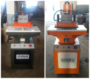 10t Cutting Press/Clicking Press/Hydraulic Swing Arm Cutting Machine pictures & photos