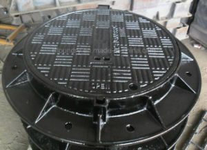 Une124 D400 Ductile Iron Manhole Covers with Capacity 40 Tons