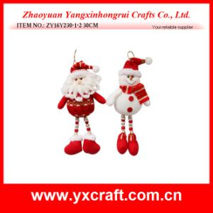 Christmas Decoration (ZY16Y230-1-2 30CM) Hanging Christmas Gift Item Novelty Christmas Gifts pictures & photos
