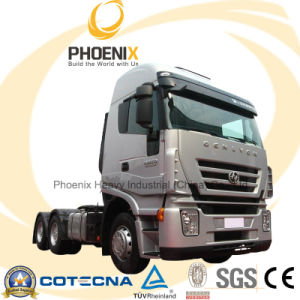 Hot Sale 380HP Genlyon Iveco Tractor Truck 6X4 Competitive to Scania Truck with One Year Warranty for African Market pictures & photos