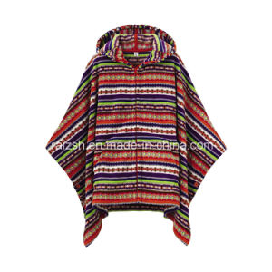 High Quality on Sale Most Popular Fleece Blanket Poncho Clothing