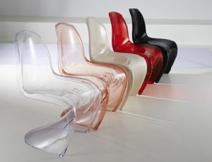 S Shape Modern Transparent Chair pictures & photos