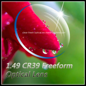 1.49 Cr39 Freeform Optical Lens