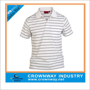 Yarn Dyed Striped Comfortable Polo Shirt for Men (CW-PS-10) pictures & photos