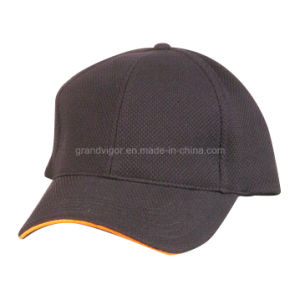 Polyester Coolmax Mesh Leisure Cap with Contrast Sandwich pictures & photos