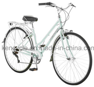 "7 Speed Vintage Bicycle Steel Frame Ladies City Bike 28"" Vintage City Bicycle/City Bike pictures & photos"