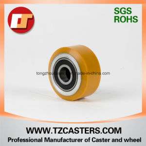 PU Roller with Steel Rim 100*40 pictures & photos