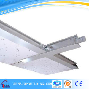 White Flat Ceiling T Bar for Gypsum Ceiling System pictures & photos