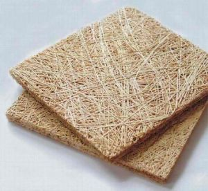 Natural Color Cement Fireproof Wood Wool Acoustic Panel pictures & photos