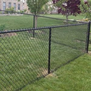China Used Cheap Yard Chain Link Fence For Salegarden Security