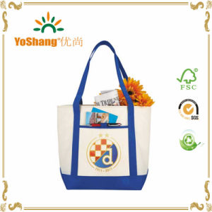 Factory Price Recyclable 10oz Cotton Canvas Tote Bag for Shopping pictures & photos