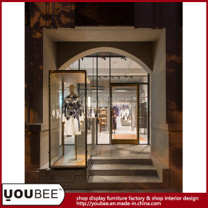 High End Garment Showroom Display Furniture Lady Clothing Shop Interior Design