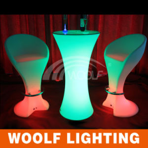 LED Party Events Color Changed Outdoor Furniture