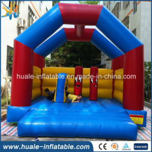 Large Colorful PVC Inflatable Bouncer for Games in Amusement Park