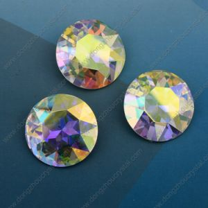 Round 27mm Ab Point Back Crystal Loose Stones (DZ-3001) pictures & photos