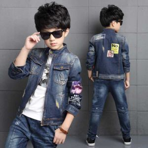 2018 New Fashion Baby Boys Clothes Long Sleeve Jeans Coat Babe Boys Jeans  Jacket Denim Outerwear Children′s Clothing Winter Kids Hip Hop Popular  Custom ... 576cded0b0e9