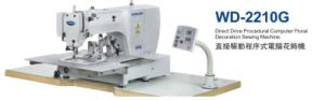WD-2210G Direct Drive Procedural Computer Floral Decoration Sewing Machine pictures & photos