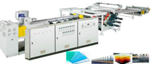 PC / PMMA / PS / Ms Sheet/ Board Plastic Extruder Machine pictures & photos