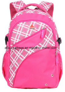 Pattern Polyester Fabric School Campus Outdoor Sports Trvael Backpack pictures & photos