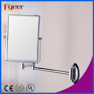 Fyeer Double Side Turnover Brass Rectangle Cosmetic Mirror (M4238) pictures & photos