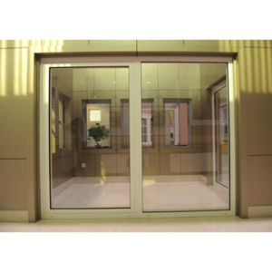 Aluminum Window and Door with White Paint (ZW-DW-002)