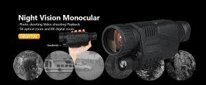 5X40mm Hunting Digital Night Vision Scope pictures & photos