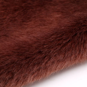 Fake Fur Fabric for Cushion/Car Seat/Garment Faux Rabbit Fur Cloth