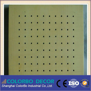 2015 Perforated Wooden Acoustic Panel Made in Shanghai of China pictures & photos