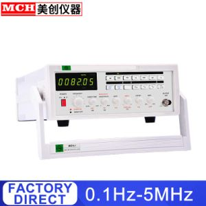 Size : 110V Function Signal Generator Frequency Meter 5MHz Multiple Waveform Signal Source Pulse MFG-8205