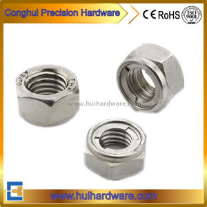 DIN980 Prevailing Torque Type Hex Nuts with Hexagon Head pictures & photos