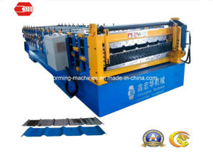 Steel Roof Panel Roll Forming Machine (Yx13.7-145.8-875) pictures & photos